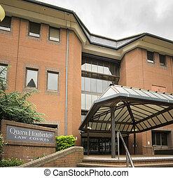 Queen Elizabeth Law Courts Birming