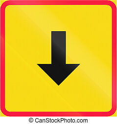 Sign Applies Backward in Finland - Additional traffic sign...