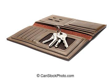 key on wallet