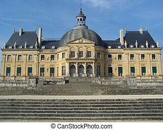 Luxembourg palace castle at Paris city - The Luxembourg...