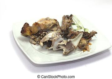 Chicken bones - Thigh and chicken bones advanced and...
