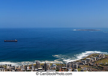 Robben Island - A view of Robben Island, Cape Town