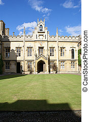 Sidney Sussex College, University of Cambridge - The inner...