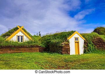 The village ancestors in Iceland - The reconstituted village...