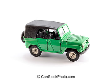 Off-road car (4x4) - Collection scale model the Off-road car...