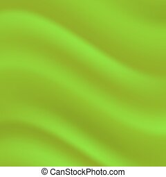 Green Wave Background - Abstract Green Wave Background for...