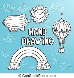 kid drawing set