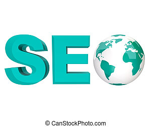 SEO - Search Engine Optimization - The acronym SEO, standing...