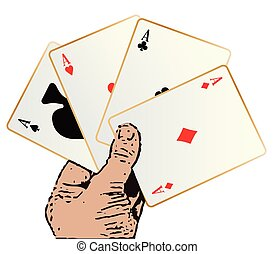 Winning Hand - The best winning hand in a poker game over a...