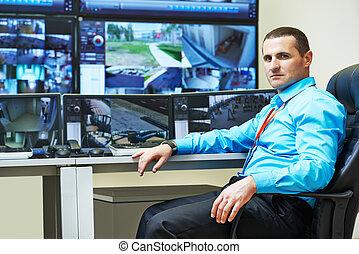 Seguridad, vídeo, vigilancia,