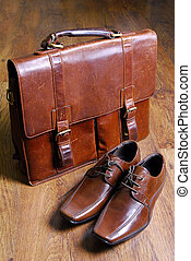 classic style briefcase