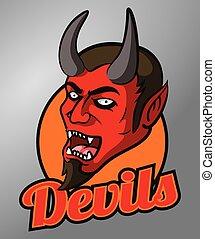 Devils mascot