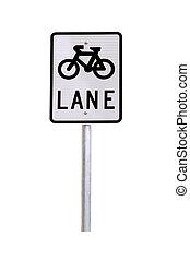 Bicycle Lane Traffic Sign - Australian Road Sign
