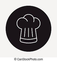 Chef Hat line icon