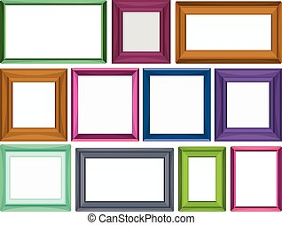 Photo frame - Different sizes for photo frames
