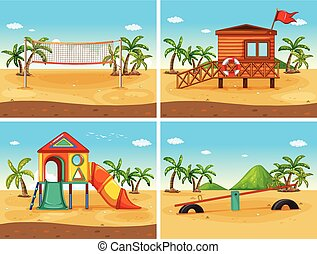 Beach - beach and playground