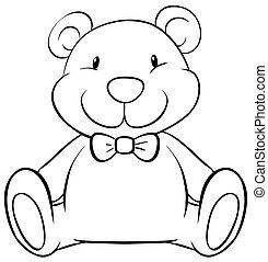 Teddy bear - Close up cute teddy bear
