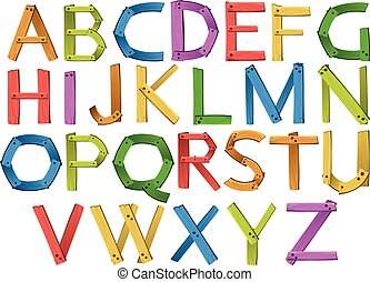 Alphabets - English alphabets