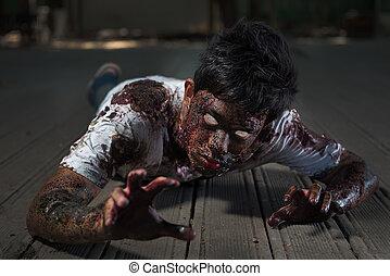 zombie, w, przedimek określony przed rzeczownikami,...