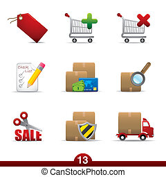 Icon series - shopping - Shopping icons from series in my...