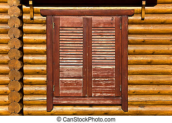 Wooden shutters detail image