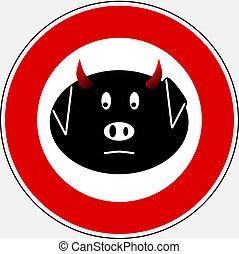 Swine flu sign 3