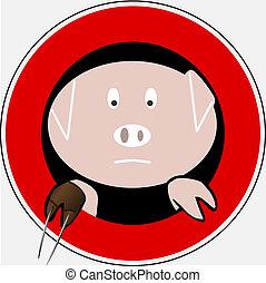 Swine flu sign 4