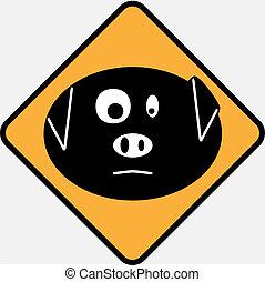 Swine flu sign 5