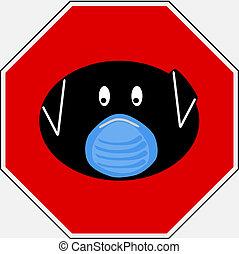 Swine flu sign 6