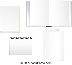 Corporate stationary - Stationaries of books, notepad and...