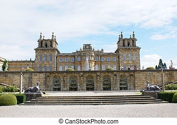 Blenheim Palace, Woodstock, UK - British landmark
