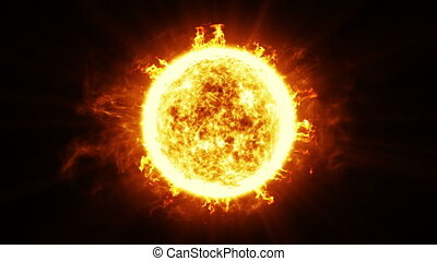 Beautiful Sun Surface Solar Flares - Beautiful Sun Surface...