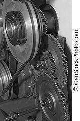 cogwheels - Group of cogwheels rotating in one mechanism