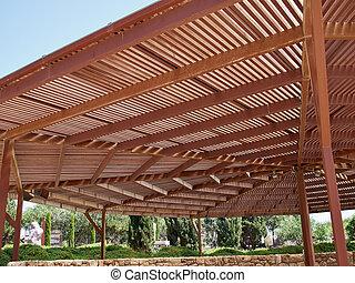 Big classical wooden pergola arbor - Classical design big...