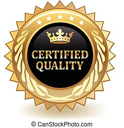 Certified Quality Badge