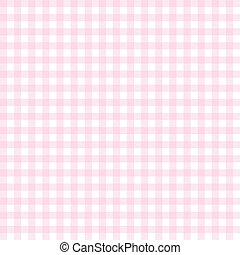 checkered seamless table cloths pattern pink colored
