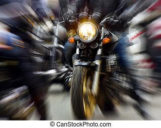motocykl,
