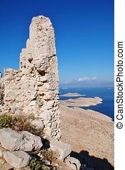 Crusader castle, Halki