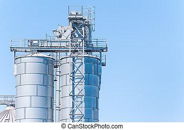 biogas, producción, almacenamiento, cereales, facilidad