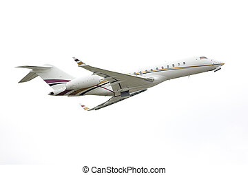 business corporate aircraft - passenger airplane in a...