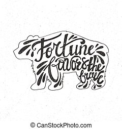 Typograhy Poster - Handdrawn inspirational and encouraging...