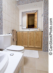wc room - image of the inside of a bathroom with wc and...