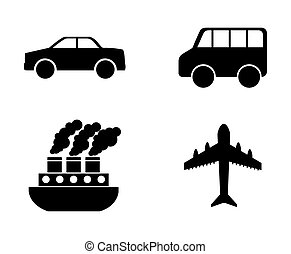 conveyance icon design, vector illustration eps10 graphic