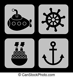 maritime icons