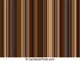 coffee stripe retro - Retro style vertical stripped...