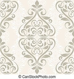 Seamless damask pattern - Damask seamless pattern for design...