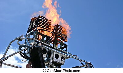 Hot Air Balloon burners. - The burner for Hot Air Balloon...