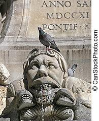 Rom, Piazza della Rotonda, Italy - Rome, Piazza della...