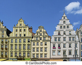 Wroclaw, Poland, Rynek, Old part of town, Europe