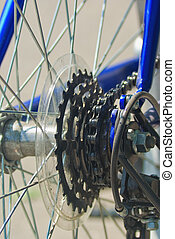 cycling gears - Bike gear wheel and chain